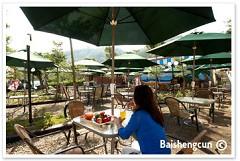 悠閒下午茶-露天咖啡庭